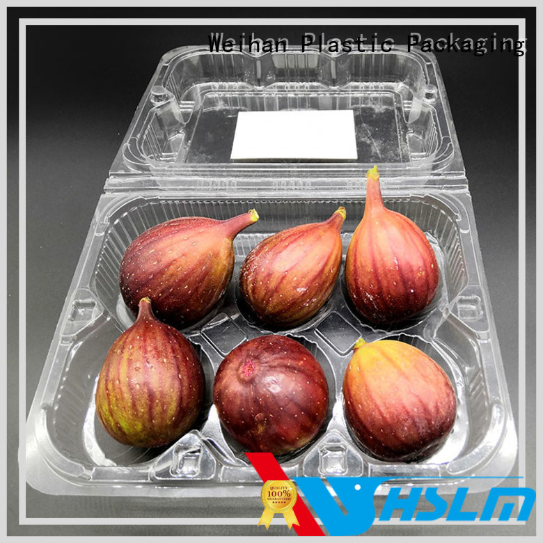 Weihan Top clear plastic fruit box Supply for supermarket