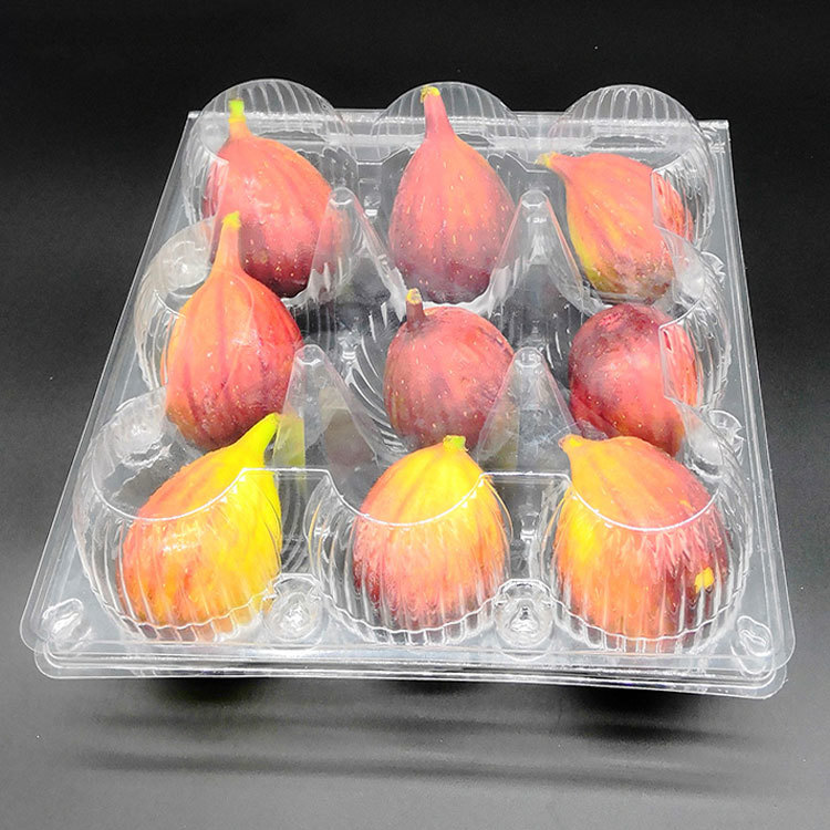 WH-09 fruit nine pieces in transparent crisper package