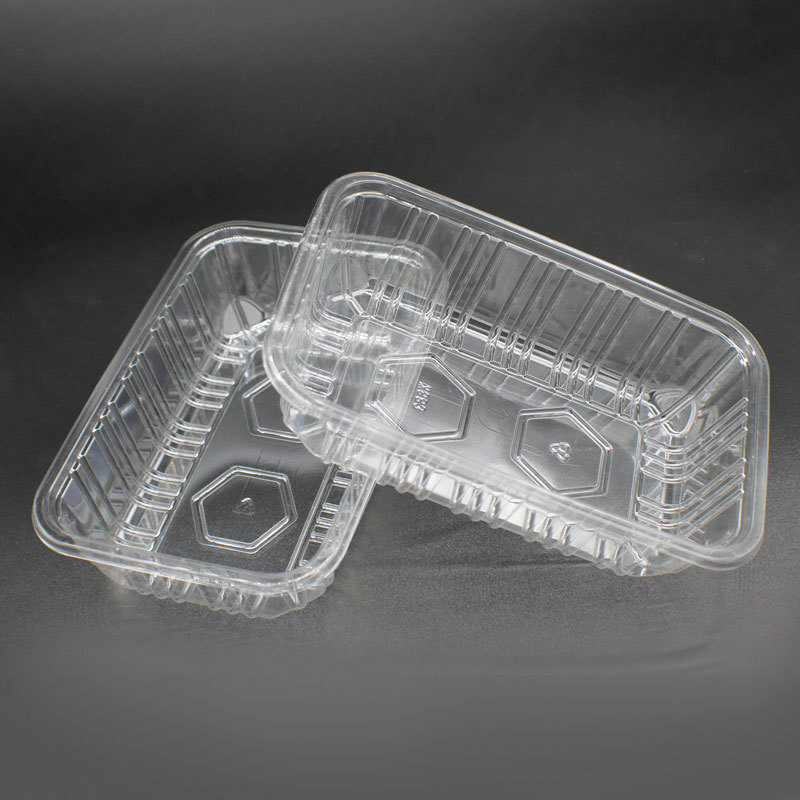 WH-83 vegetable and fruit salad package transparent tray