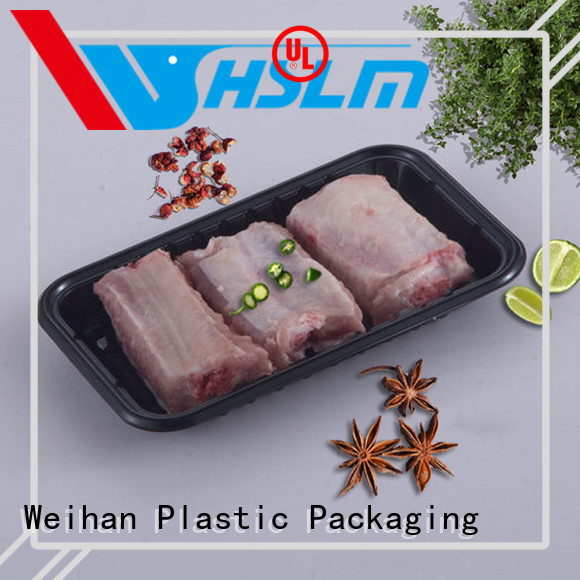Weihan Latest black catering trays factory for vegetable