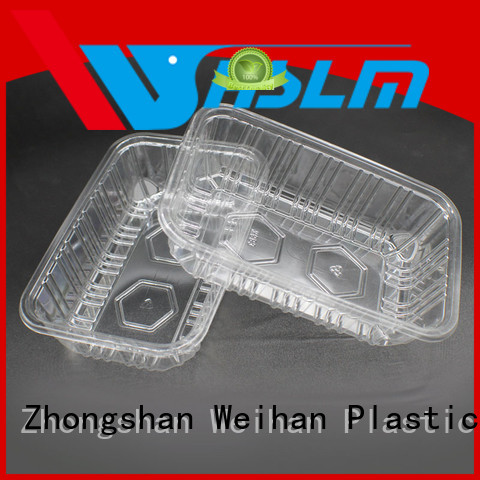 Weihan Top Clear Plastic Food Tray Suppliers for fresh food
