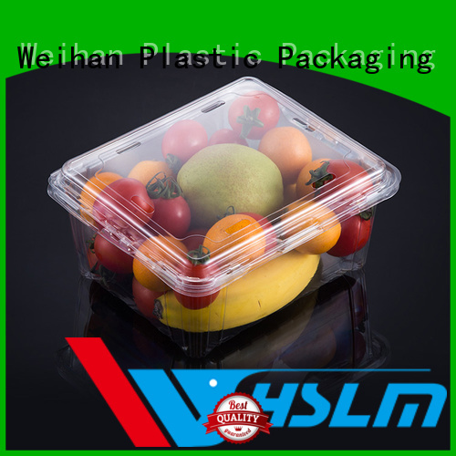 Weihan four clear plastic fruit box for business for fresh food