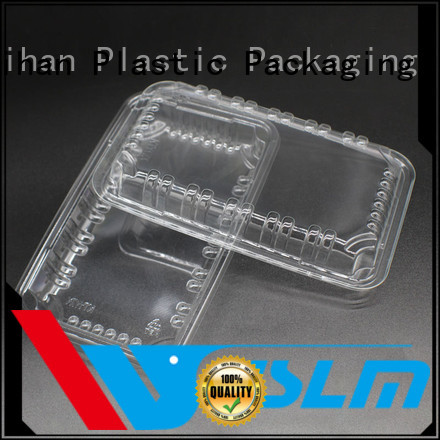 Weihan High-quality black plastic food trays Supply for fresh food