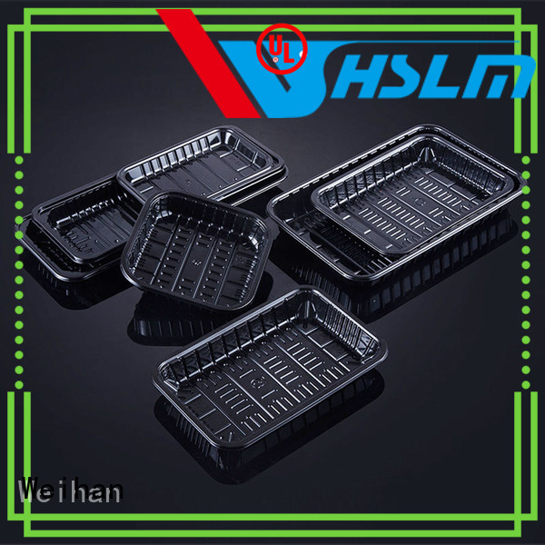 High-quality clear plastic food tray chicken Supply for fresh food