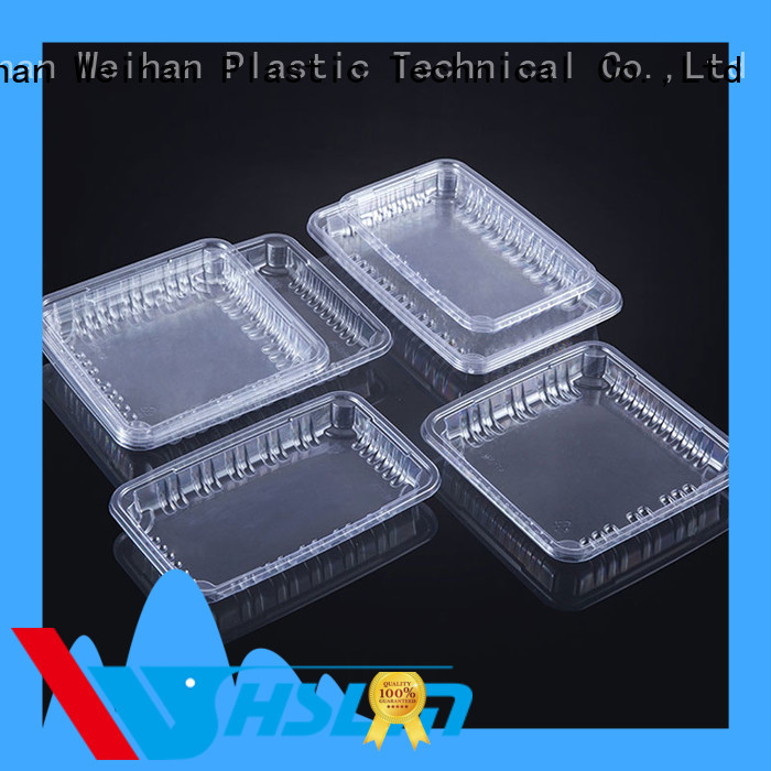 Weihan Top round plastic trays manufacturers for fresh food