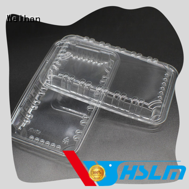 Weihan meat plastic food trays with compartments manufacturers for meat