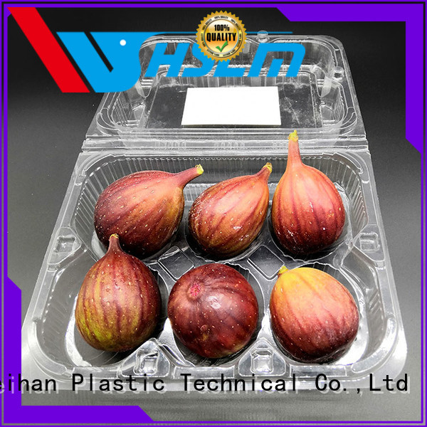 Weihan salad Clear Fruit Box manufacturers for vegetable