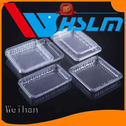 Weihan vegetables plastic deli trays for business for fresh food