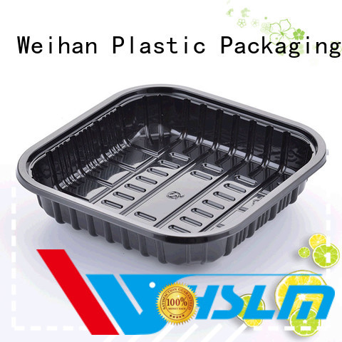 Weihan Wholesale black plastic catering trays Supply for vegetable