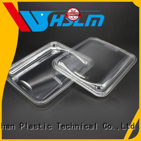 Weihan transparent plastic catering trays company for supermarket