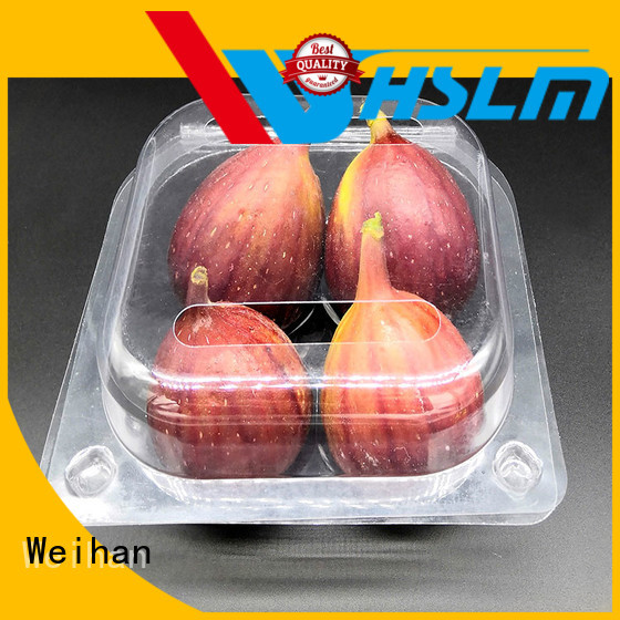 Weihan Custom plastic box for fruit company for fresh food