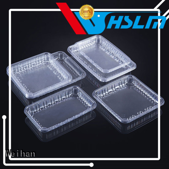 Weihan Best clear plastic trays food packaging Suppliers for supermarket