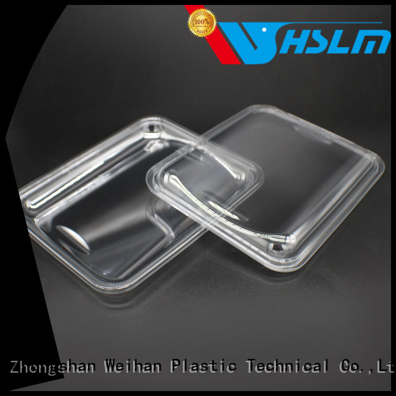 Weihan kt128n clear plastic trays food packaging Supply for fresh food