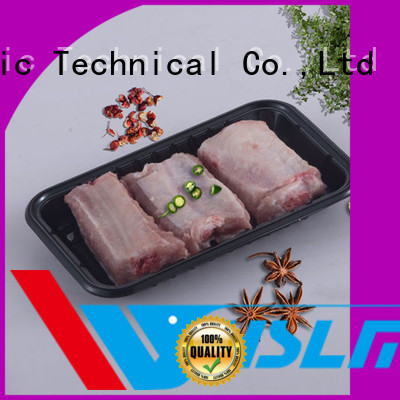 Weihan Wholesale black plastic serving tray Suppliers for fresh food
