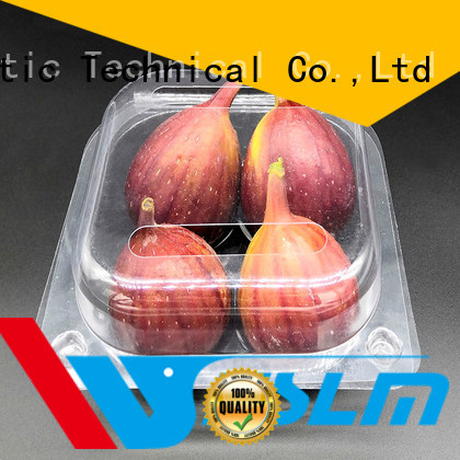 Weihan Custom clear plastic fruit box manufacturers for vegetable