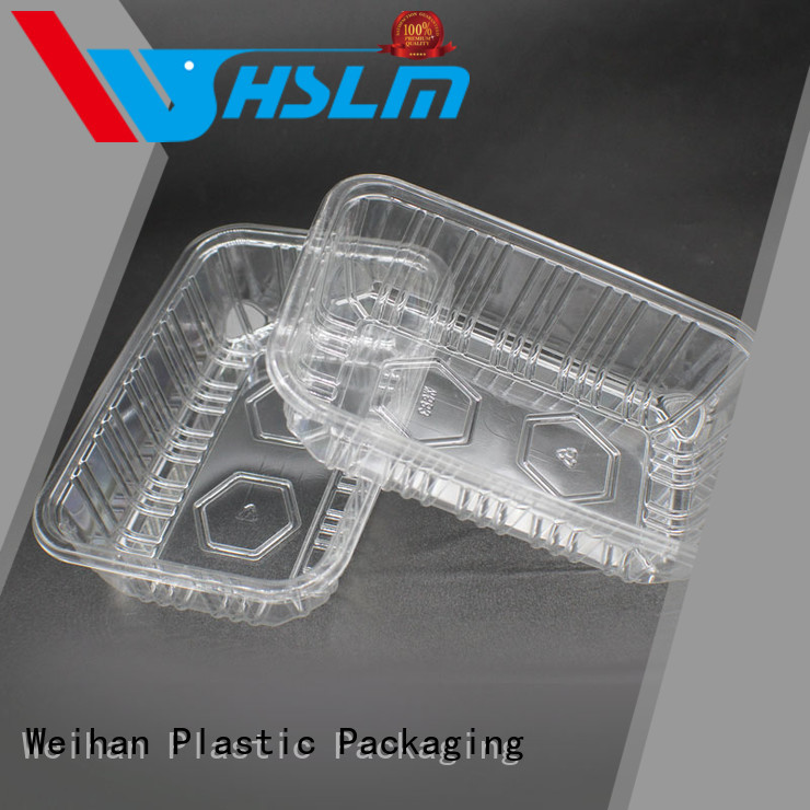 Weihan Wholesale clear plastic trays food packaging company for supermarket