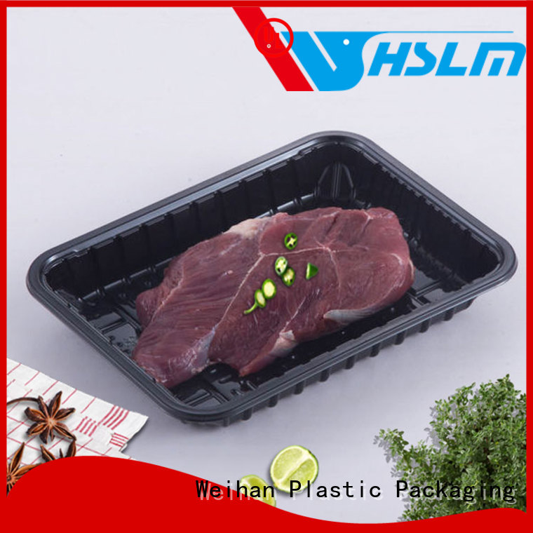 Wholesale black plastic tray meat factory for fruit