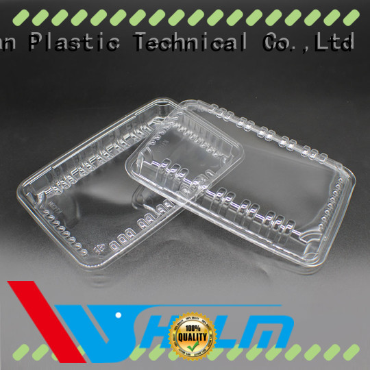 Weihan vegetable plastic food trays Suppliers for meat