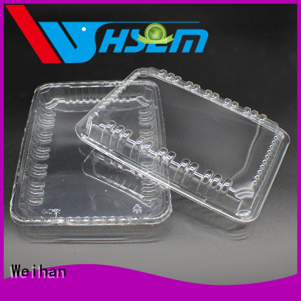 Weihan fruits plastic take out food containers manufacturers for supermarket