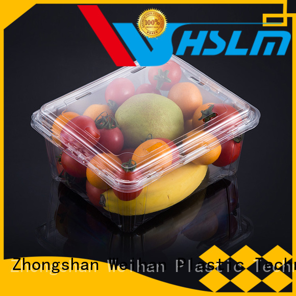 Weihan box clear plastic fruit box company for meat