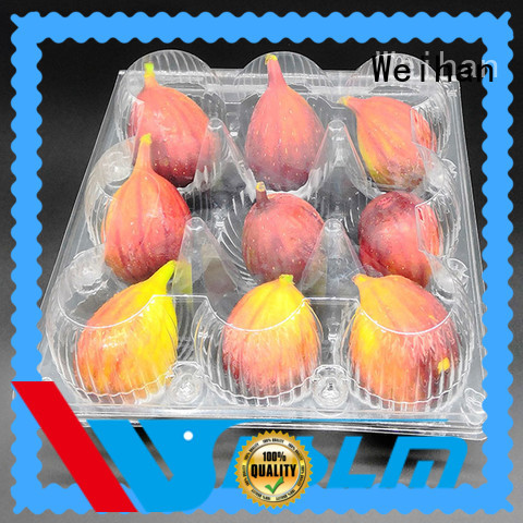 Weihan wh09 plastic box for fruit manufacturers for meat
