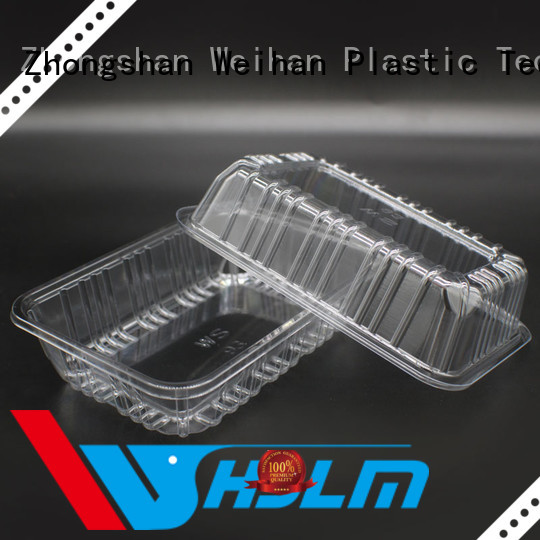 Weihan Custom small clear plastic trays factory for fresh food