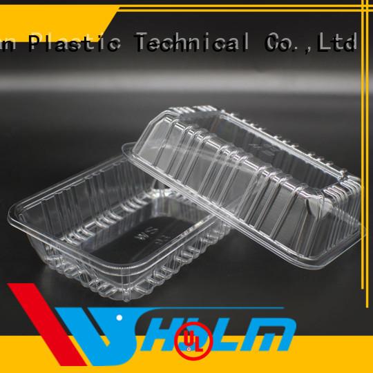 Custom plastic deli trays vegetables Suppliers for fruit