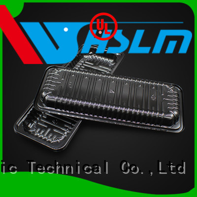 Weihan New black plastic serving tray Suppliers for fruit