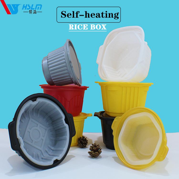 PP Materials Self-heating hot pot bbq packing box